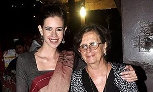Kalki Koechlin - Koechlin with her mother Françoise Armandie in 2016