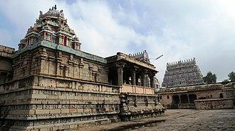 Kampaheswarar Temple, Thirubuvanam - Image: Kampaheswar 1