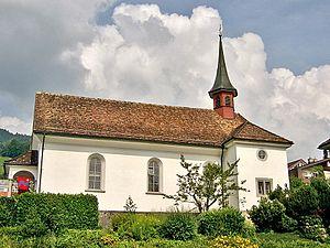 Rickenbach, Schwyz - Kapelle St. Magdalena, Rickenbach
