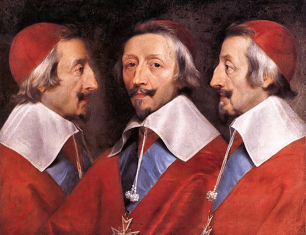 CHAMPAIGNE, Philippe de Cardinal Richelieu 1637 or 1642