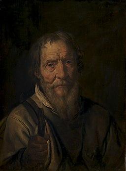 Karel van III Mander - Portrait of an Old Man. Christian Jacobsen Drakenberg (^) - KMS1379 - Statens Museum for Kunst