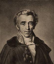 Johann Friedrich Freiherr von Cotta (Lithographie, um 1830) (Quelle: Wikimedia)