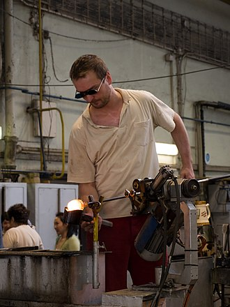 Moser (glass company) - Moser glassmaker in 2011