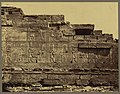 Karnak. Bas-relief sur le mur du temple l'Evergedes II - Bonfils. LCCN2004666806.jpg