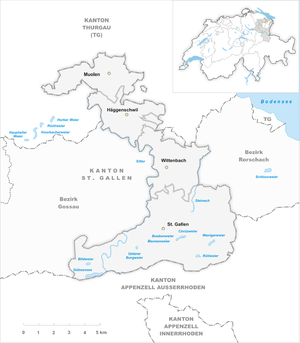 Map of the municipalities of the St. Gallen district 2002.png