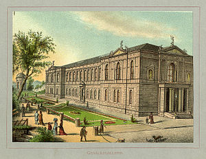 New Gallery (Kassel) - The building in 1880