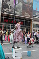 Kate Mior as Coppelia the Wind-up Doll 2015 Buskerfest Toronto 01.JPG