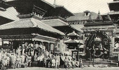 Kathmandu Market 1920