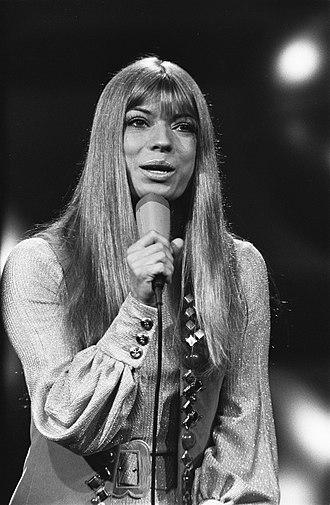 Katja Ebstein - Ebstein at the Eurovision Song Contest 1970 in Amsterdam
