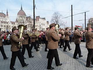 Hungarian military band