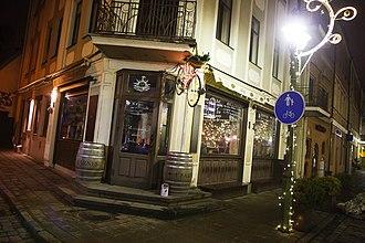 Centras (Kaunas) - One of the Kaunas Old Town restaurants