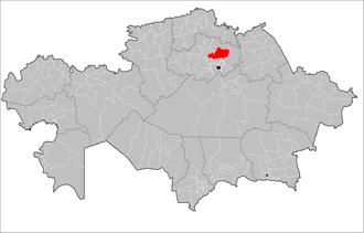 Akkol District - Image: Kazakhstan Akkol District