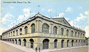 1900 Democratic National Convention - Convention Hall