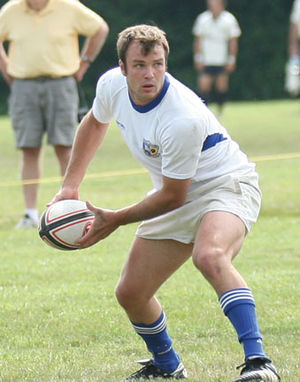 Kansas City Blues (USA Rugby) - KC Blues Captain and Center Conner Smith.