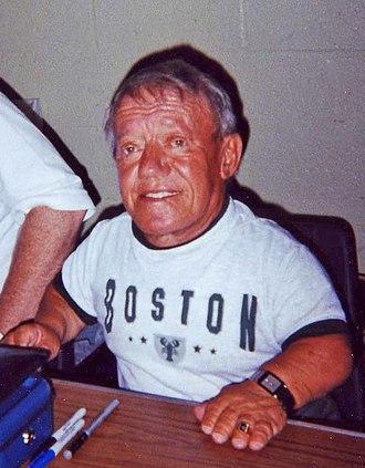 Kenny Baker (English actor) - Baker in February 2005