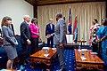 Kenyan President Uhuru Kenyatta Shakes Hands With Assistant Secretary Greenfield at the State House in Nairobi (29119910806).jpg