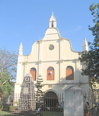 Fort Kochi - St Francis Church where Vasco da Gama was once buried