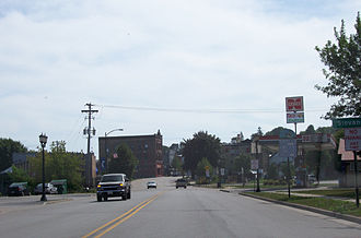 Kewaunee, Wisconsin - Travelling south on Highway 42