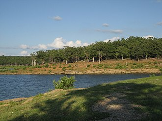 Keystone Lake - View of  Keystone Lake