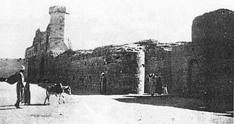 Khan Yunis - The southern part of the historic khan at Khan Yunis, 1930s