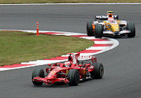 Kimi Raikkonen and Nelsinho Piquet 2008 Japan.jpg