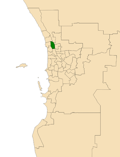 Electoral district of Kingsley state electoral district of Western Australia