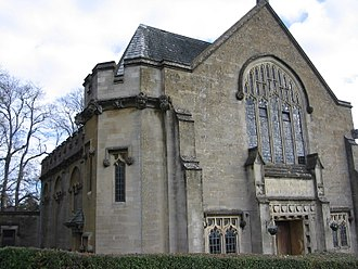Methodist Church of Great Britain - Chapel of Kingswood School, the world's oldest Methodist educational institution