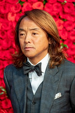 "Kitazawa Tsuyoshi from ""Goal! Goal! Goal! -The Best of Football Films-"" at Opening Ceremony of the Tokyo International Film Festival 2018 (45618869921).jpg"