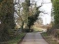 Kite's Nest Lane crosses Inchford Brook - geograph.org.uk - 1767943.jpg