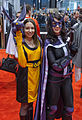 Kitty Pryde and the Huntress at C2E2 2013 (8695026354).jpg