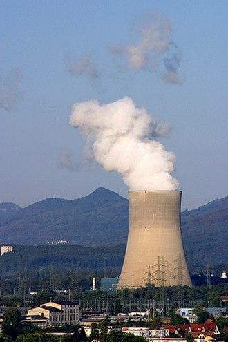 Nuclear power in Switzerland - The 970-megawatt (MW) Gösgen nuclear power plant