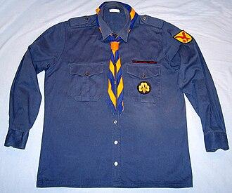 Bund der Pfadfinderinnen und Pfadfinder - Uniform (older variant)