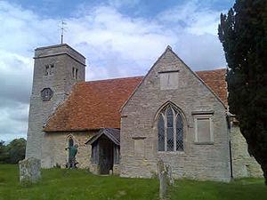Church of St Margaret, Knotting, Bedfordshire - Church of St Margaret, Knotting.
