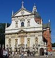 KościółŚwApostołówPiotraIPawła-Front-WidokZPlacuMariiMagdaleny-POL, Kraków.jpg