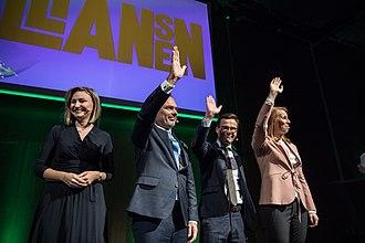 Alliance (Sweden) - Four leaders together