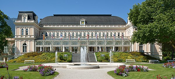 Congress and theater building at Bad Ischl, Upper Austria