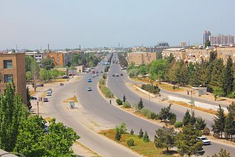 Sumqayit - Koroghlu Avenue of Sumqayit