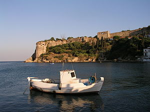 Koroni - View of the castle