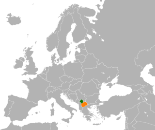Diplomatic relations between Kosovo and North Macedonia