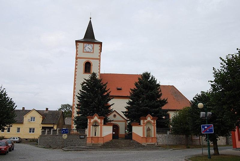 kostel sv. Jakuba v Kasejovicích