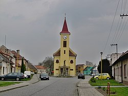 Center of the village