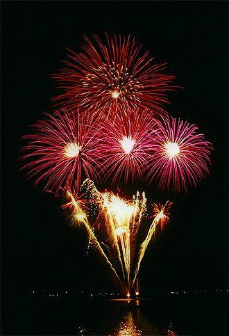 Außenalster - Kirschblütenfest Fireworks