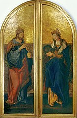 Christ as King and Mary as Queen