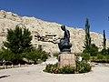 Kumarajiva Kizil Caves Kuqa Xinjiang China 新疆 库车 克孜尔千佛洞 鸠摩罗什 - panoramio (1).jpg