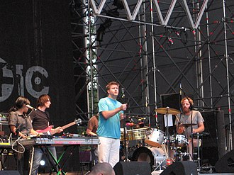 LCD Soundsystem performing in Turin, Italy in 2007 LCD Soundsystem - Traffic 2007.JPG