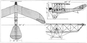 LFG Roland Pfeilflieger - The smaller span, Argus powered Pfeilflieger