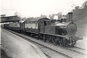 2-4-2 - London and North Western Railway 2-4-2T
