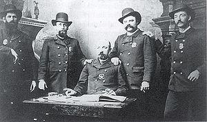 History of Lincoln, Nebraska - Lincoln Police force in 1885