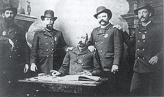 History of Lincoln, Nebraska - Lincoln Police force in 1885