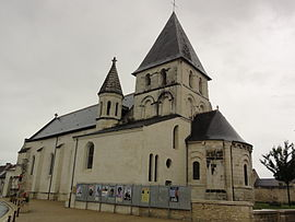 The church in La Celle-Saint-Avant